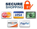 Secure Shopping & Payments Accepted